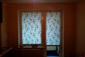 Шторы на балконную дверь