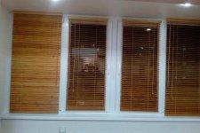 Горизонтальные жалюзи из бамбука 25 мм
