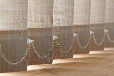 Жалюзи из ткани, вертикальные