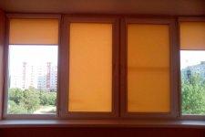 Рулонные шторы Uni2 на лоджию