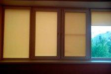 Рулонные шторы на лоджию